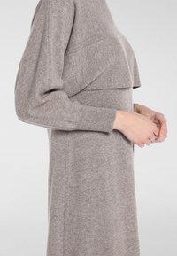 Apart - Robe en jersey - taupe - 4