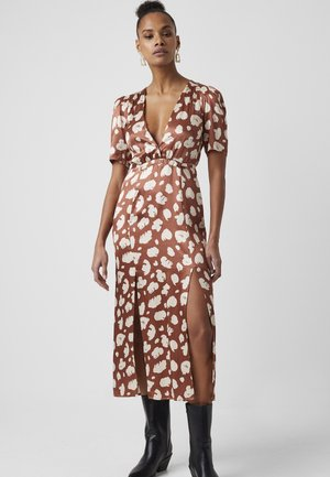 PF AIMEE  - Cocktail dress / Party dress - brown patina/clcream