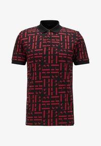 BOSS - PHILLIPSON - Print T-shirt - black - 4