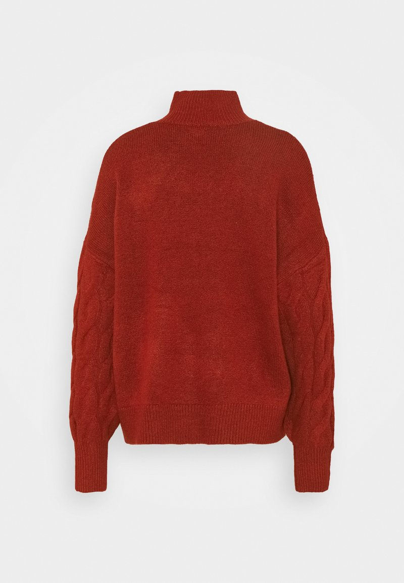 GAP JAC CABLE SLOUCHY - Strickpullover - red/rot FRLkVd