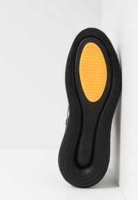 Nike Sportswear - AIR MAX 720 - Trainers - black/metallic silver/university gold/flash crimson/kinetic green/psychic purple - 4