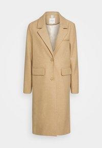 COAT BASIC - Klasický kabát - warm sand melange