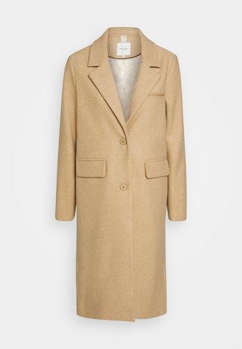 COAT BASIC - Klasyczny płaszcz - warm sand melange