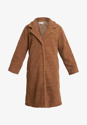 COLLARED COAT - Zimní kabát - camel