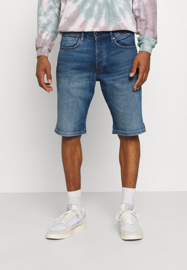 CALLEN - Szorty jeansowe - denim