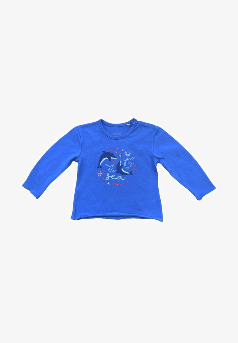 Kanz - Long sleeved top - blue