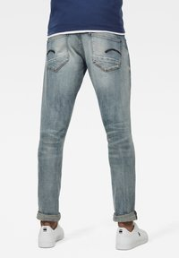 G-Star - REVEND SKINNY - Jeans Skinny Fit - antic faded lapo blue destroyed - 1
