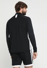 Nike Performance - DRY  - T-shirt sportiva - black/white - 2