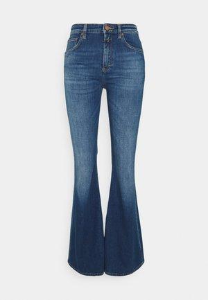 RAWLIN BOOTLEG - Bootcut jeans - dark blue