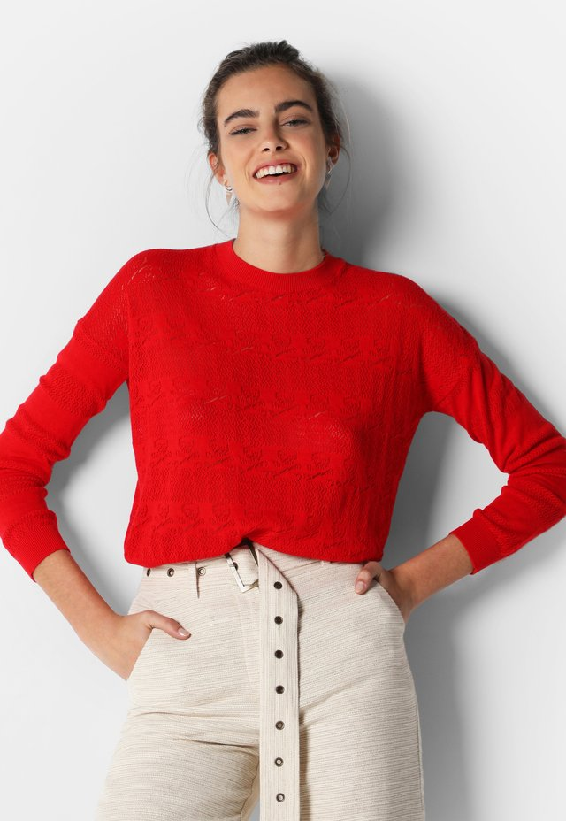 SKULL  - Jumper - red