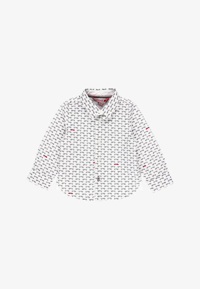 POPELIN AUTOS FÜR BABY JUNGE - Overhemd - print