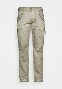 Alpha Industries - FLIGHT PANTS - Trousers - dark olive - 4
