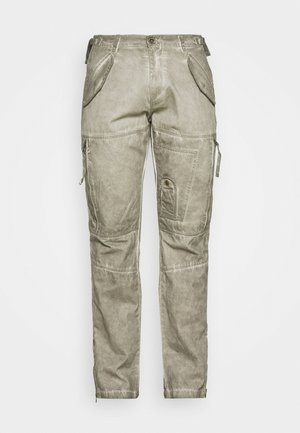 FLIGHT PANTS - Pantaloni - dark olive