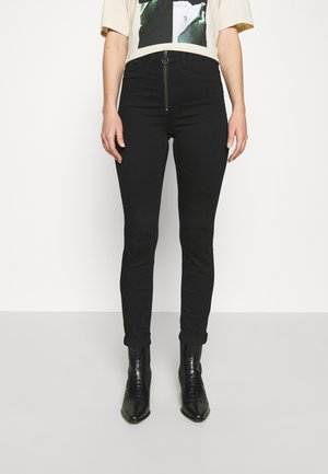 NMCALLIE - Kalhoty - black denim