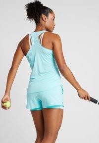 Nike Performance - DRY TANK - Sportshirt - light aqua/white - 2
