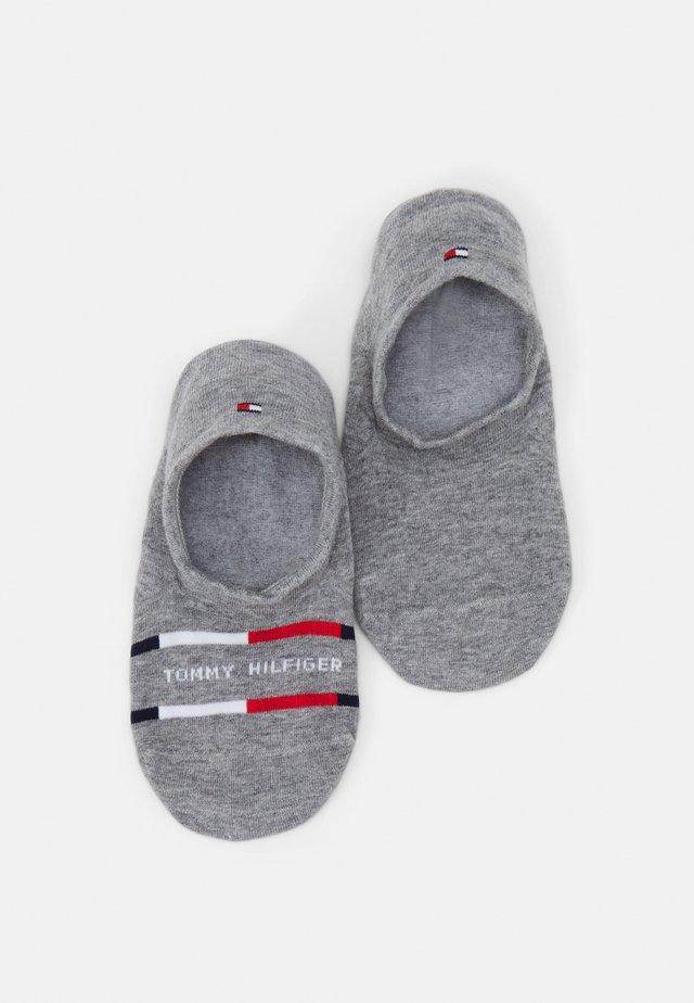 MEN FOOTIE BRETON STRIPE 2 PACK - Sportovní ponožky - mid grey