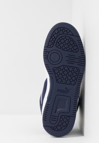 Puma - REBOUND LAYUP UNISEX - Sneakers high - peacoat/white - 4