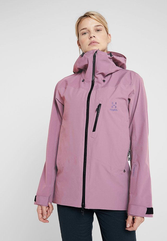 NIVA JACKET WOMEN - Snowboardjacka - purple milk