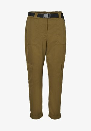 Cargo trousers - fir green