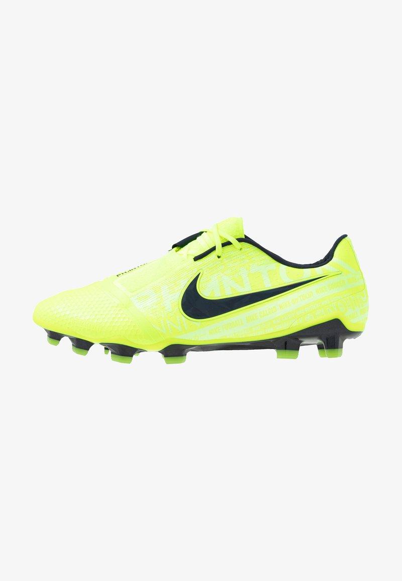Nike Performance - PHANTOM ELITE FG - Moulded stud football boots - volt/obsidian/barely volt
