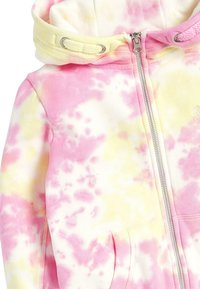 Next - FLURO - Zip-up hoodie - mottled pink - 2