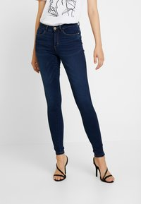ONLY - ONLROYAL - Vaqueros pitillo - dark blue denim - 0