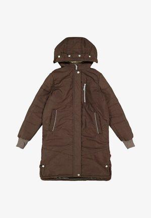 Winter coat - bark
