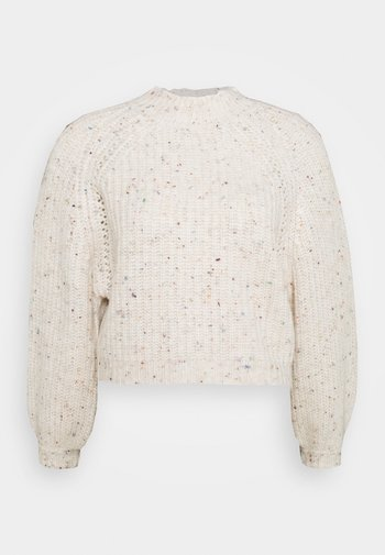 VILEVIA CREWNECK PETIT - Jersey de punto - whisper white/mult
