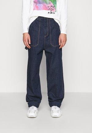 CRUMPET PANTS - Jeansy Relaxed Fit - indigo