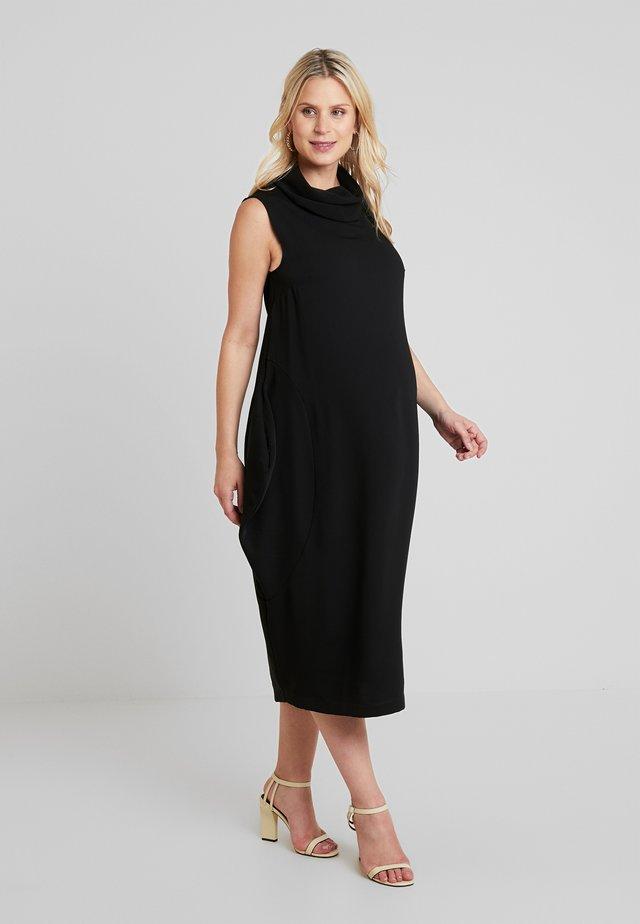 KRISTEN - Vestito di maglina - black