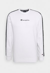 Champion - LEGACY TAPE CREWNECK - Sweatshirt - white - 4