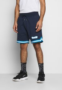 Mitchell & Ness - OWN BRAND WARM UPS  - Sports shorts - navy - 0