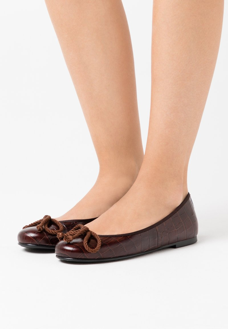 Pretty Ballerinas - TEMPO - Ballet pumps - brown