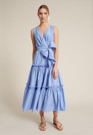 PERIPLO - Korte jurk - var azzurra