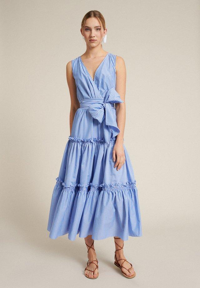 PERIPLO - Day dress - var azzurra