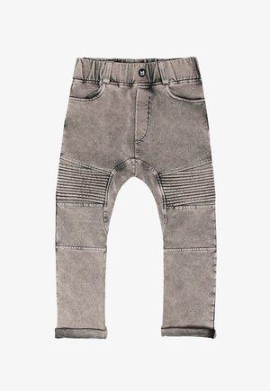 Straight leg jeans - marble grey