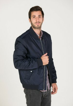 CANYON - Bomber Jacket - navy
