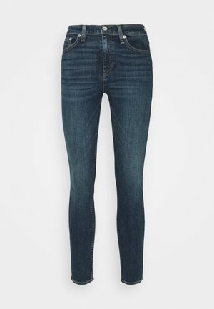 CATE MID RISE ANKLE - Slim fit jeans - dark-blue denim