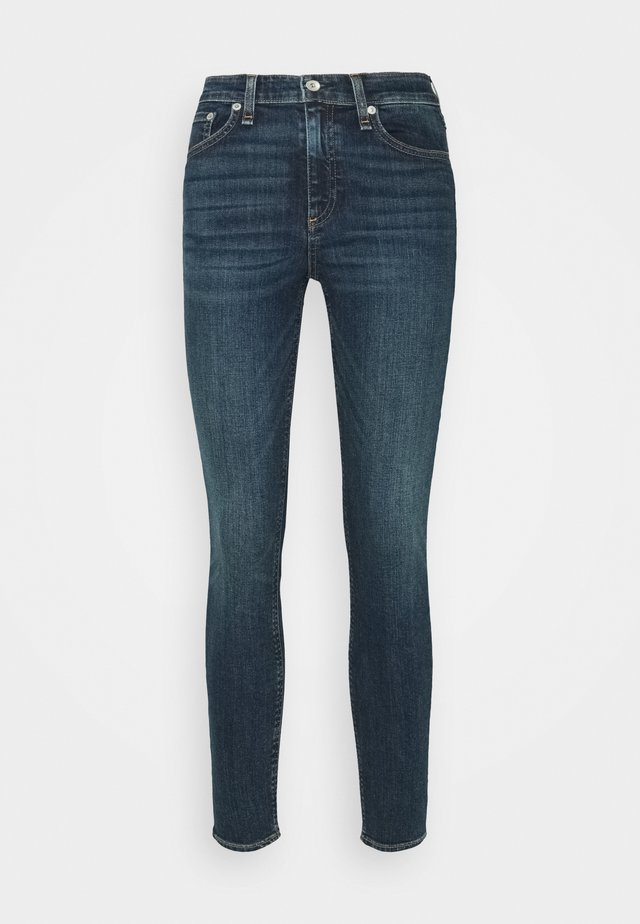 CATE MID RISE ANKLE - Jeans Slim Fit - dark-blue denim