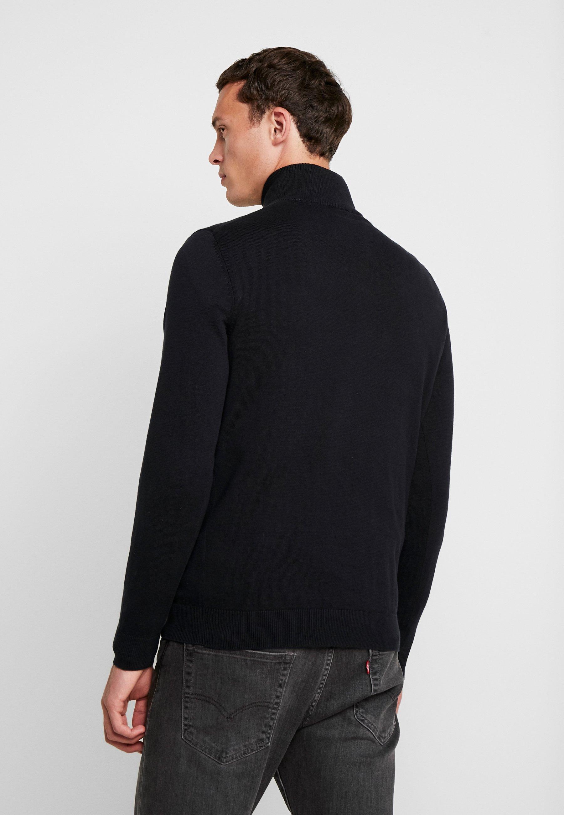 Esprit Half Zip - Strikkegenser Black/svart
