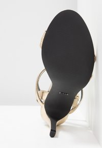 ONLY SHOES - ONLAILA CROSS  - High heeled sandals - gold - 6