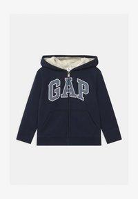 GAP - TODDLER BOY COZY LOGO - Zip-up hoodie - blue galaxy - 0