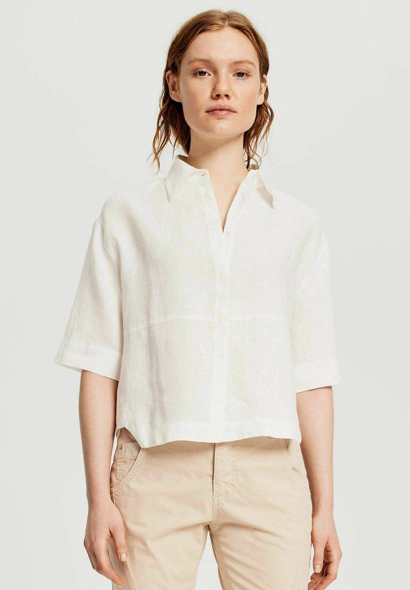 Opus - FRIEDI - Button-down blouse - offwhite