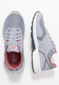 Reebok - RIDGERIDER TRAIL 4.0 - Trail running shoes - shadow/grey/rose - 1