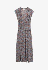 Mango - Day dress - azul - 4