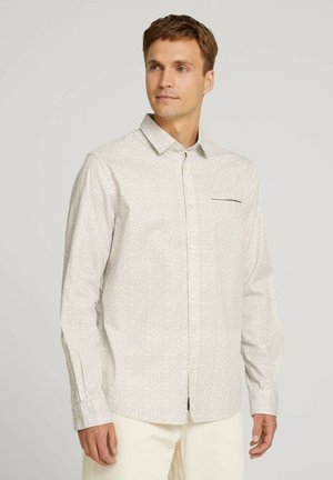 Shirt - off white base minimal design