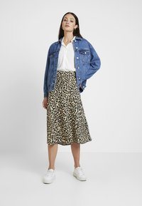 Great Plains London - CARA LEOPARD - A-line skirt - beige - 1