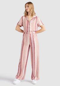 khujo - MAHSALA - Trousers - pink - 2