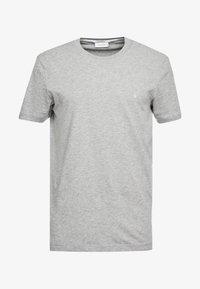 T-shirt basique - mid grey heather