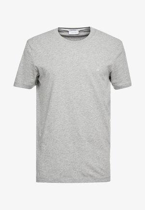 Basic T-shirt - mid grey heather